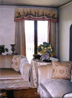 Drape Table in a corner